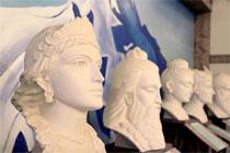 Скульптуры Алексея Леонова